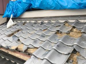 土葺き 屋根瓦