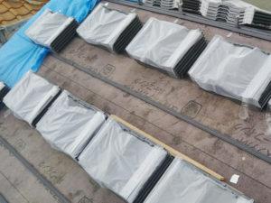 瓦 引掛桟葺工法 アスファルトルーフィング