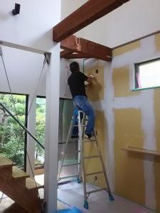 漆喰 タナクリーム 調湿 壁
