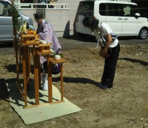 地鎮祭 新築 戸建て 大阪 神戸