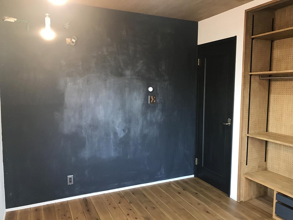 黒板塗装 子ども部屋 リノベーション