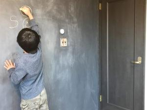 黒板塗装 子ども部屋 DIY リノベ